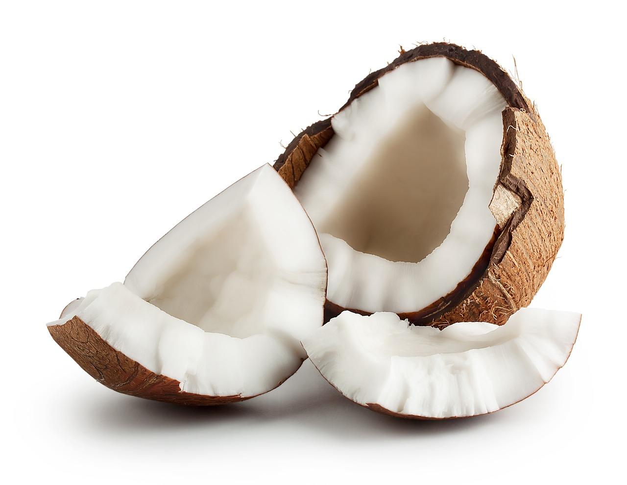El coco es muy saludable
