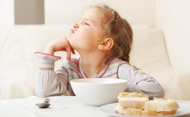 Los niños pequeños demuestran irregularidad en su apetito