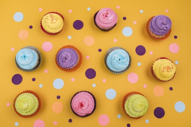 cupcakes tenemos que tener todos los ingredientes a mano