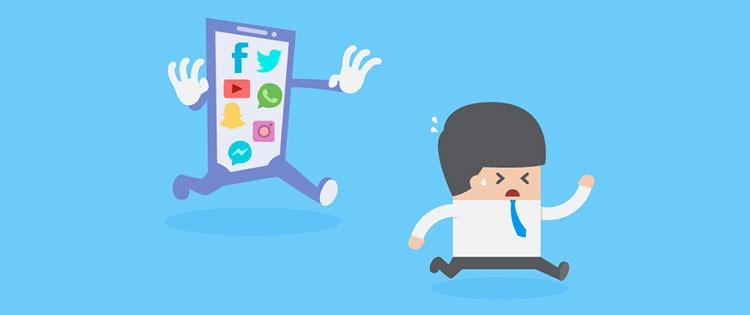 personas que pasan más de 2 horas al día en las redes sociales tenían índices más altos de ansiedad